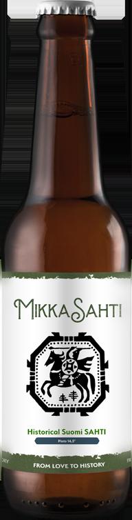 bottle of mikka sahti
